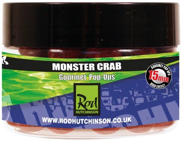 Rod Hutchinson RH Pop-Ups Monster Crab with Shellfish Sense Appeal  15mm