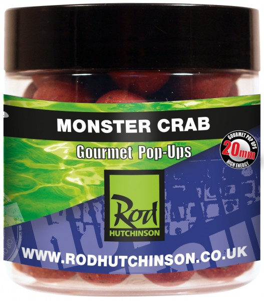 Rod Hutchinson RH Pop-Ups Monster Crab with Shellfish Sense Appeal  20mm