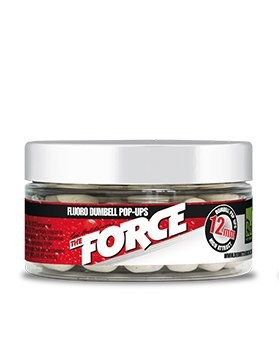 Rod Hutchinson RH Fluoro Dumbell Pop Ups The Force 12mm