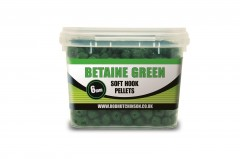 Rod Hutchinson RH chytací pelety Soft Hook Pellets Betaine Green 6mm 200g