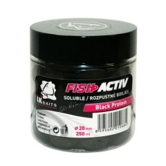 LK Baits Fish Activ Black Protein 250ml, 20mm