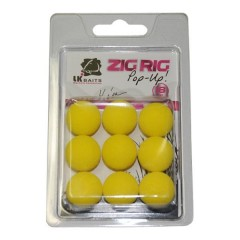 ZIG RIG Pop–Up 18 mm –  Yellow (1)