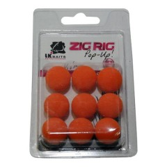 LK Baits ZIG RIG Pop–Up 18 mm – Orange