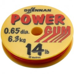 Drennan Feederová guma Powergum 14lb / 6,3kg Red