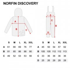 Norfin Oblek Discovery vel. XL